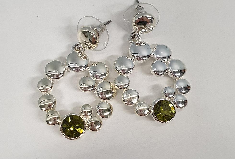 Oorbel Hangers Olive