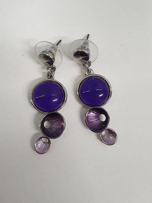 oorbellen paars