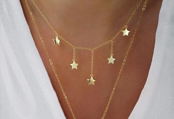Colar com Estrelas JOYARD
