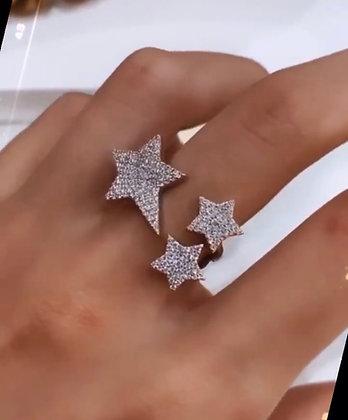 Anel 3 Estrelas JOYARD