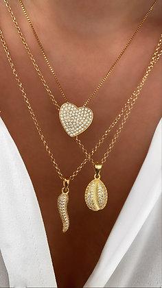 Colar Amuletos Diamond JOYARD