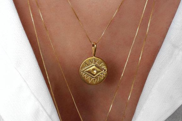 Medalha Olho Grego