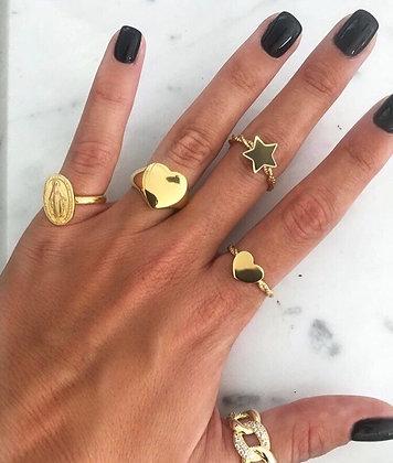 Anéis Ajustáveis diversos Prata 925