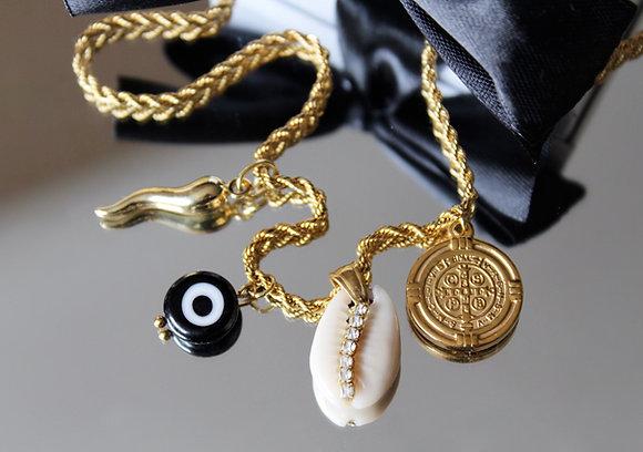 Colar Amuletos Verão