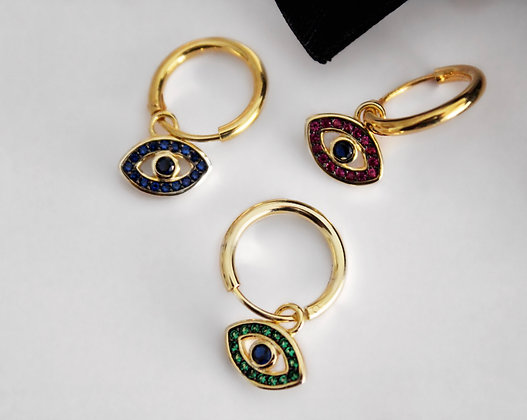 Argolas Amuleto Olho Grego