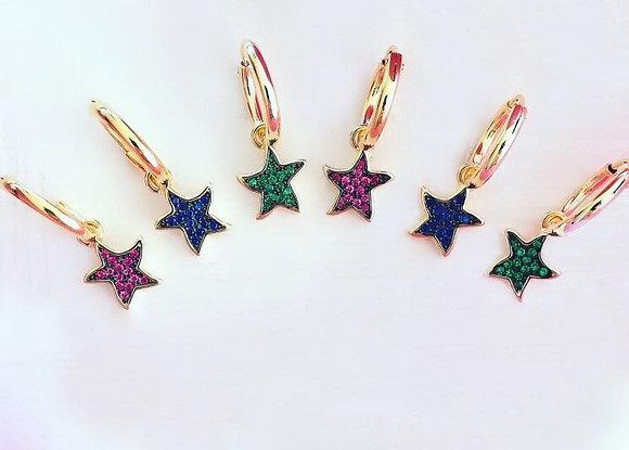 Argolas Amuletos Estrelas