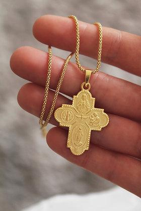 Colar Cruz All Saints JOYARD