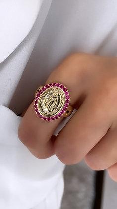 Anel Nossa Senhora Pink Love