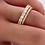 Thumbnail: Anel Infinity Zircões Brancos