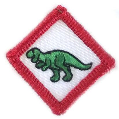 Guziczek skrzatowy - Dinozaur