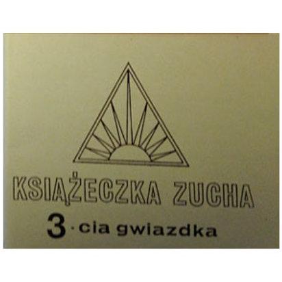 Książeczka zucha - 3cia gwiazdka