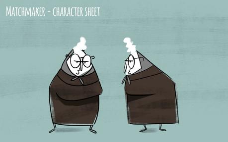 Yenta Character Sheet