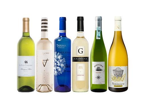 White Wine Tasting Flight
