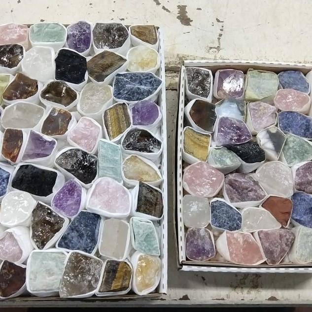 Mix Rough Minerals Flat