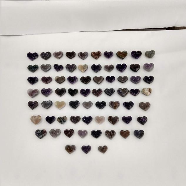 Uruguayan Amethyst Heart