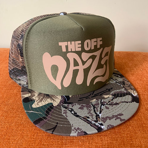 "The Off Daze ""Hunter"" Trucker Hat"