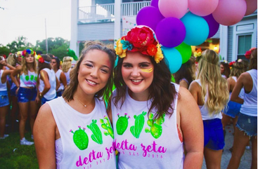 Texas State Delta Zeta Bid Day