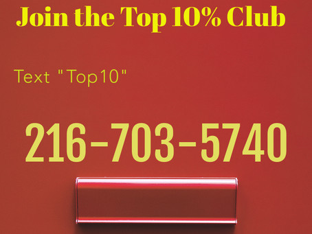 Join the Top 10% Club as a Realtor