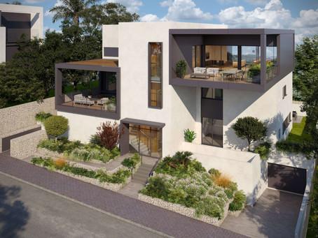וילה עירונית רמת השרון - נקודת מבט אדריכלית