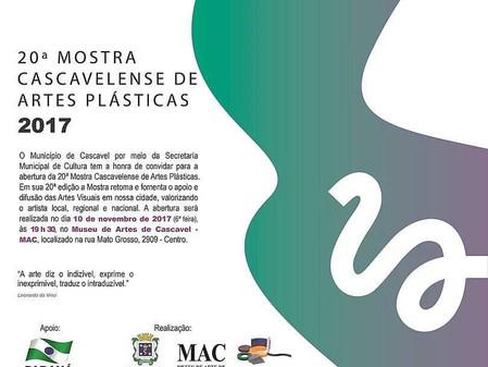Mostra Cascavelense de Artes Plásticas - 20ª edição