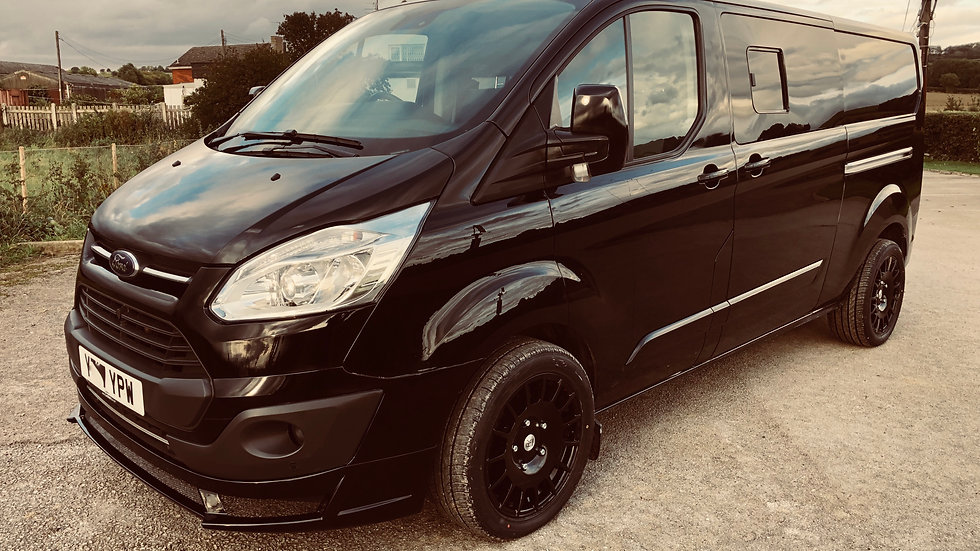 Ford transit custom lwb RS sport kit 6 seater