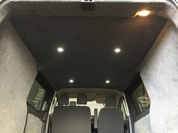 led spots in roof