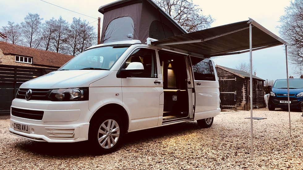 Vw t5 4 berth camper van