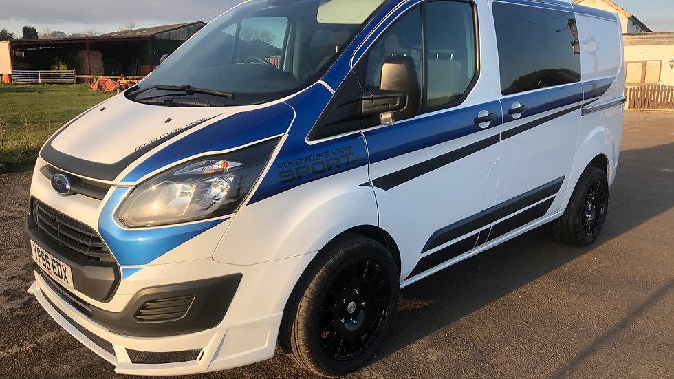 2016 Ford transit custom RS sports kit 6 seat