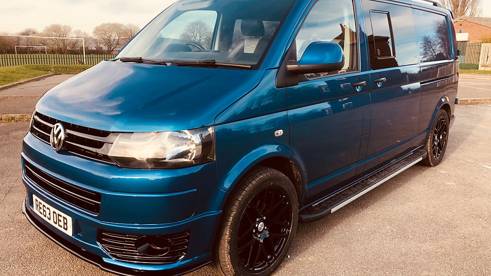 T5 Kombi 6 seater 79k 140bhp 6 speed LWB