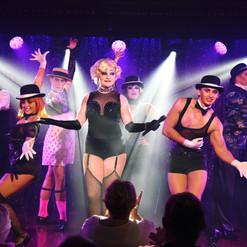 Rachel in Cabaret, AIDA cruises.