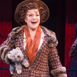 Eden Brent in the First National Tour of Bullets Over Broadway, directed by Jeff Whiting and Susan Stroman.