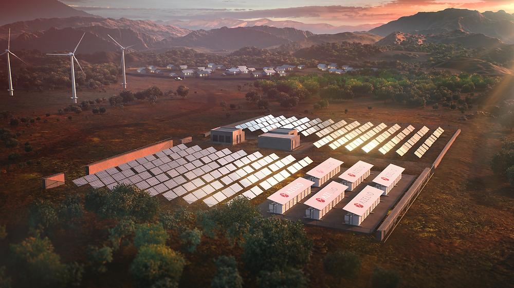 Thermal Energy Storage © Azelio
