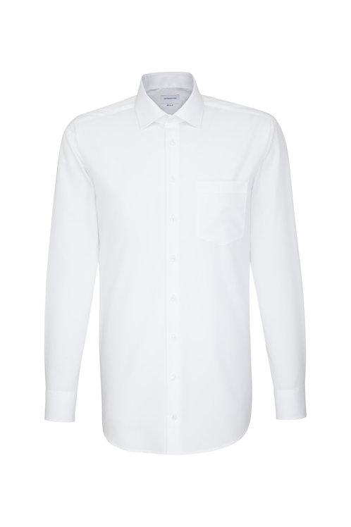 Seidensticker - Langarm Hemd modern fit weiß NOS bis 6XL