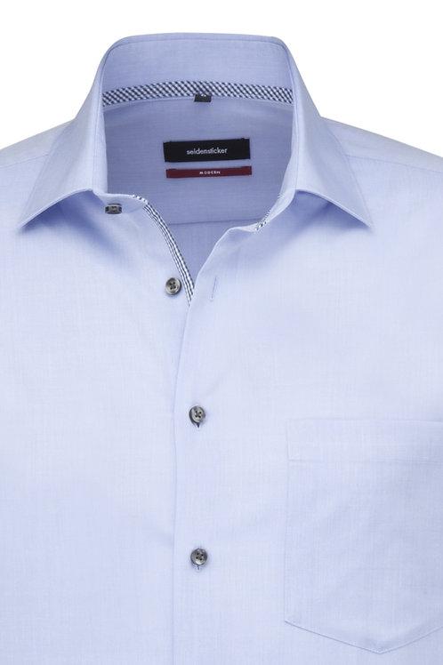Seidensticker - Langarm Hemd modern Fit blau P3