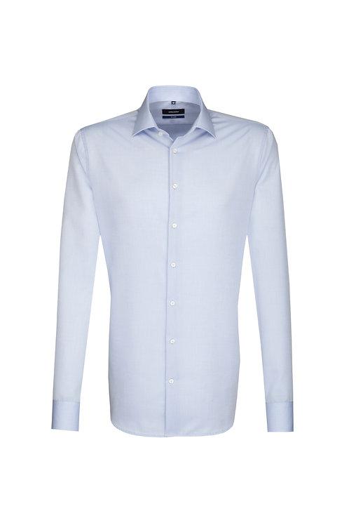 Seidensticker - Hemd shaped Hellblau NOS
