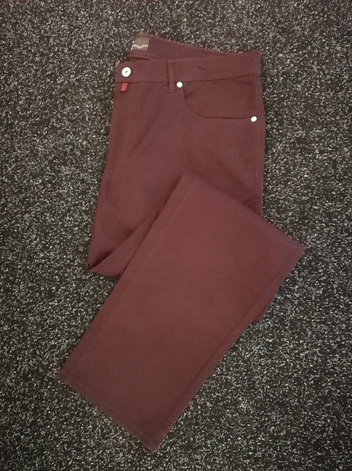 PIERRE CARDIN 5-Pocket bordo