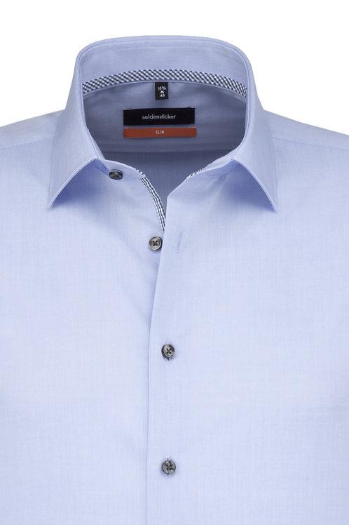 Seidensticker Hemd slim hellblau P3