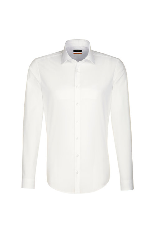 Seidensticker - Hemd ivory slim NOS