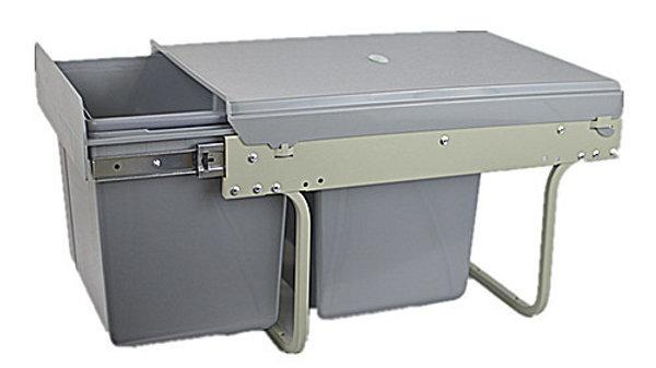 801004 - Pull Out Garbage Bins-Under Sink Type
