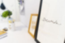 צילום אביזרי נוי של הום סטיילינג