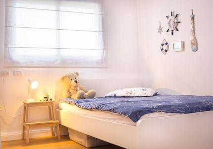 צילום עיצוב פנים- חדר שינה