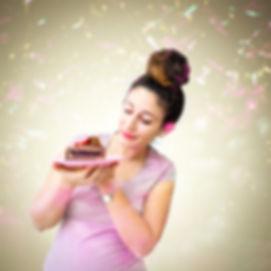 צילום בעלת עסק לעוגות בביתה
