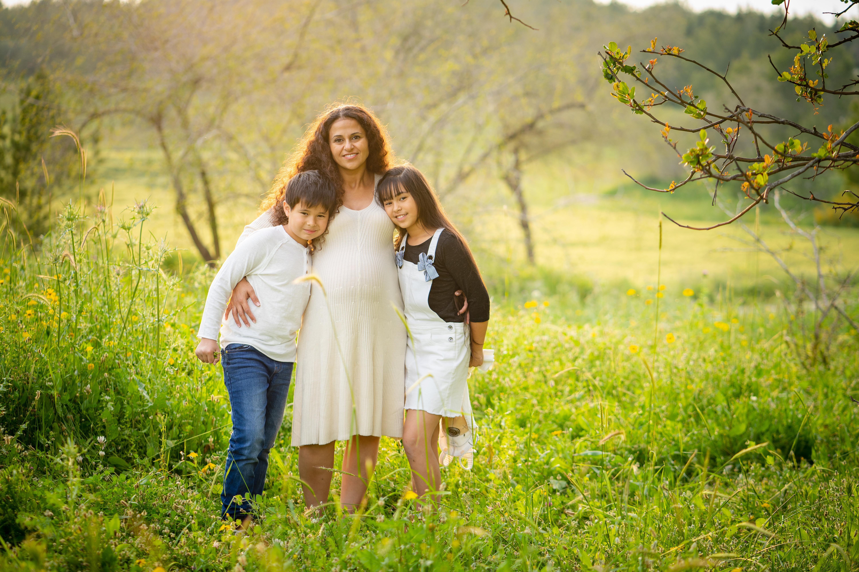 הריון ומשפחה בטבע