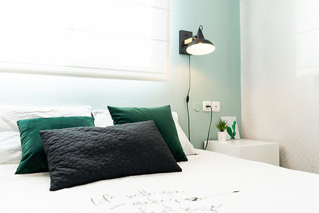 צילום עיצוב פנים- מיטה