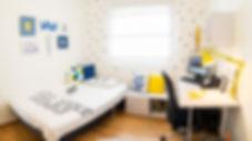 צילום פנורמי- חדר שינה