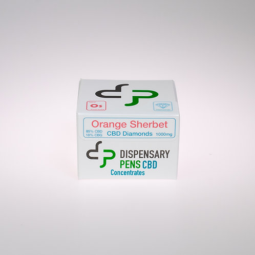 Orange Sherbet CBD Diamonds - 1000mg
