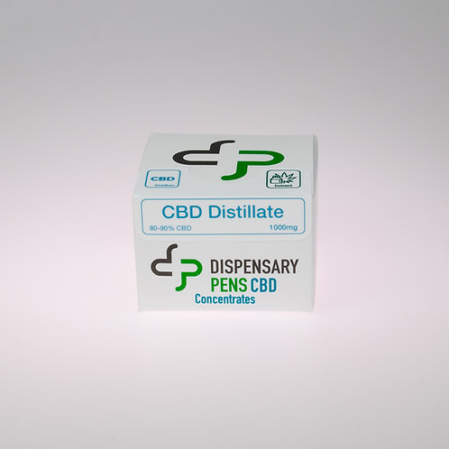 Wholesale 80-90% CBD Broad-Spectrum Distillate - 1000mg