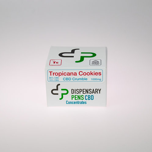Wholesale Tropicana Cookies CBD Crumble 500mg