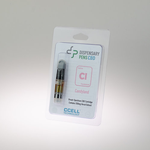 Candyland Broad Spectrum CBD Distillate Cartridge