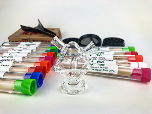Glass Joint/ Pen Bubbler